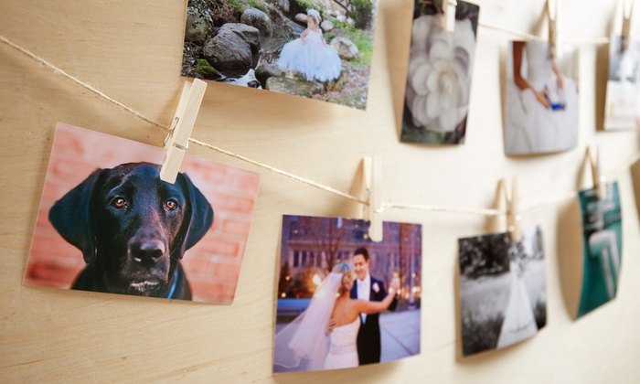 "York Photo: Personalized 4"" x 6"" Photo Prints from York Photo with Free Shipping (Up to 44% Off)"
