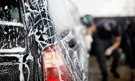 Basic Wash or Full Interior and Exterior Detail for a Car, SUV, Truck, or Van at Super Shine (Up to 50% Off)