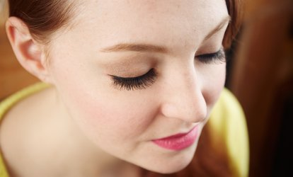 image for Full or Partial Eyelash Extensions or Full Eyelash Extensions with One Fill at Angel Enjoy (Up to 85% Off)
