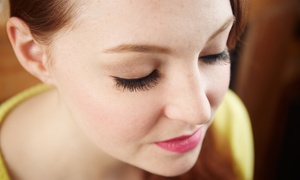Angel Enjoy: Full or Partial Eyelash Extensions or Full Eyelash Extensions with One Fill at Angel Enjoy (Up to 85% Off)