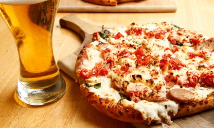 Pizza with Beer or Wine for One, Two or Four at Rogues (Up to 60% off)