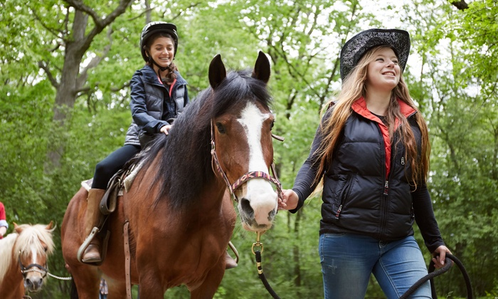 Windrift Adventures - Windrift Kennel: Trail-Riding Experience for One, Two, or Four Horseback Riders at Windrift Adventures (Up to 47% Off)