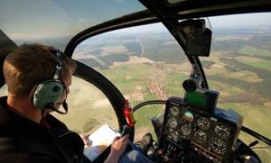 eurl Greg Helico: Vol d'initiation au pilotage hélico de 20, 30, 45 ou 60 min dès 199 € avec Greg Helico