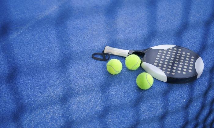 Lezioni private o di gruppo di tennis o padle con affitto campo di padle al Fioranello Tennis (sconto fino a 57%)