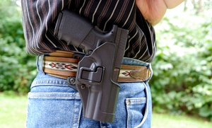 Up to 95% Off Concealed-Carry License Class at USS Agency, plus 6.0% Cash Back from Ebates.