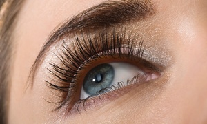 Creative Nail Spa And Beauty: $29 for a Brow and Lash Package or $59 to Add Silk Eyelash Extensions at Creative Nail Spa And Beauty (Up to $130 Value)