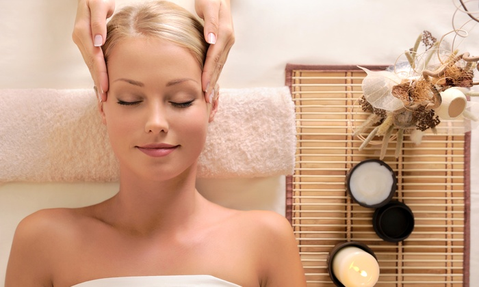 Pure Spa - Perry Plaza: $129 for a Massage, Facial, Spa Pedi, and Brow Wax with a Wine & Cheese Platter at Pure Spa ($250 Value)