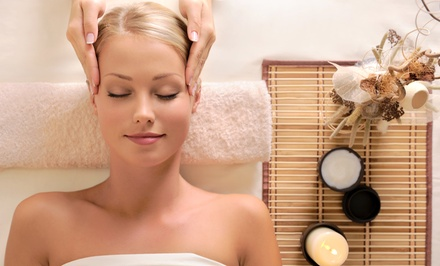 Massage, Facial, or Both, with Optional Hand and Foot Treatment at Aveda Red Bell Day Spa (Up to 51% Off)