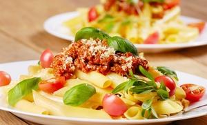 Tommy Lasagna's Pizza & Pasta Company: Italian Food from Tommy Lasagna's Pizza & Pasta Company (Up to 40% Off)