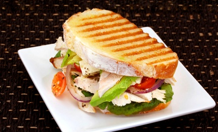 Three or Five Groupons, Each Good for $8 Worth of Healthy Fast Food at Greens & More (50% Off)