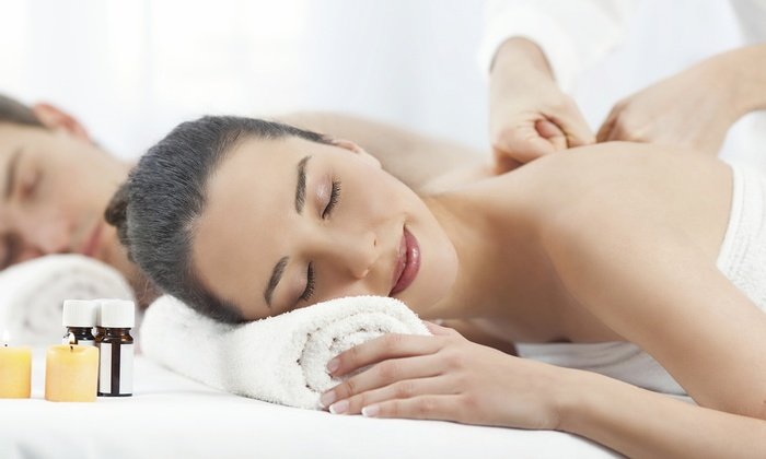 Relax Spa and Beauty - Burbank: Spa Package for Two or Couples Package with Chocolates and Wine at Relax Spa and Beauty (Up to 54% Off)