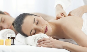 One 60-Minute Couple's Relaxation or Hot Stone Massage at Enhance & Beyond (Up to 57% Off)