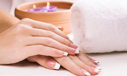image for Gel Manicure ($19), or Gel Mani-Pedi with Sugar Scrub Massage ($55) at The BK Hairdressing (Up to $100 Value)