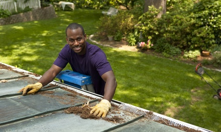 Gutter Cleaning for 2,500 or 3,500 Square Foot Home from All Clear Window Cleaning (Up to 50% Off)