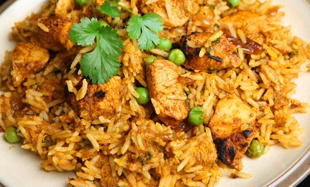 Indian Food at Khana Peena Indian Cuisine (Up to 39% Off). Two Options Available.
