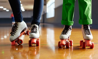 image for Roller Skating for 2 or Roller Skating for 4 with Popcorn and Soda at Fast Forward Skate Center (Up to 50% Off)