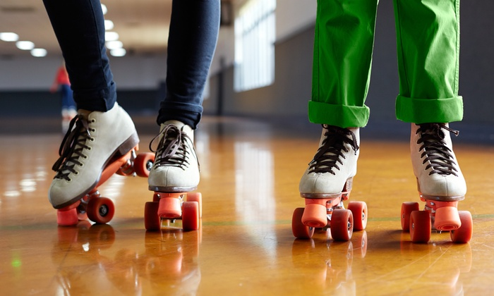Fast Forward Skate Center - Madison: Roller Skating for 2 or Roller Skating for 4 with Popcorn and Soda at Fast Forward Skate Center (Up to 50% Off)
