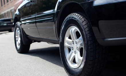 Wheel Nitrogen Fill for 4 Wheels ($14), or 3D Wheel Alignment ($30), or Both ($39) at Enhanced Motors (Up to $117 Value)