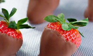 Mena's Treats: Strawberries at Mena's Treats (Up to 50% Off. Five Options Available.