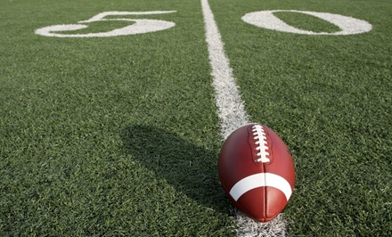 Youth Football One Day Camp for One or Two at Cavil's Youth Football Camp (Up to 44% Off)