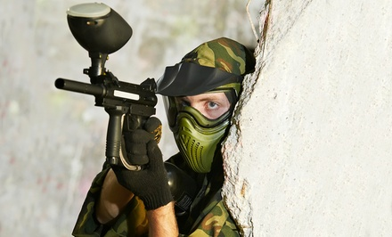 All-Day Visit with Equipment Rental, Paintballs, and Air for Two or Four (Up to 47% Off)