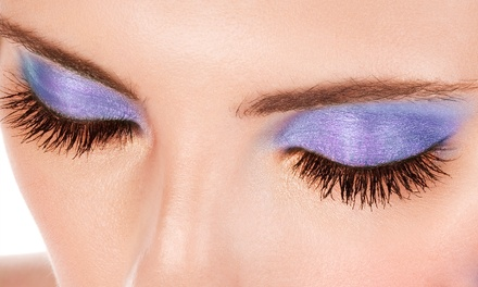 One Full Set of Eyelash Extensions with Optional Refill at Makeup by Ms. Lydia ($270 Off)
