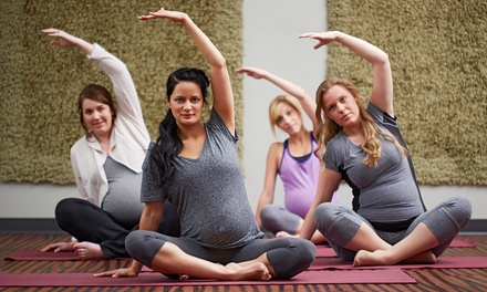 Six Prenatal or Five or Ten Yoga Classes at Graceful Warrior Yoga (Up to 69% Off)