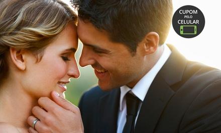 Studio Eternità: 5 horas de cobertura fotográfica para aniversário ou casamento a partir de 12x sem juros de R$ 54,08