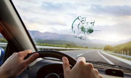 One WindshieldChip Repair or $15 for $100 Toward Windshield Replacement at Auto Glass Denver Pros