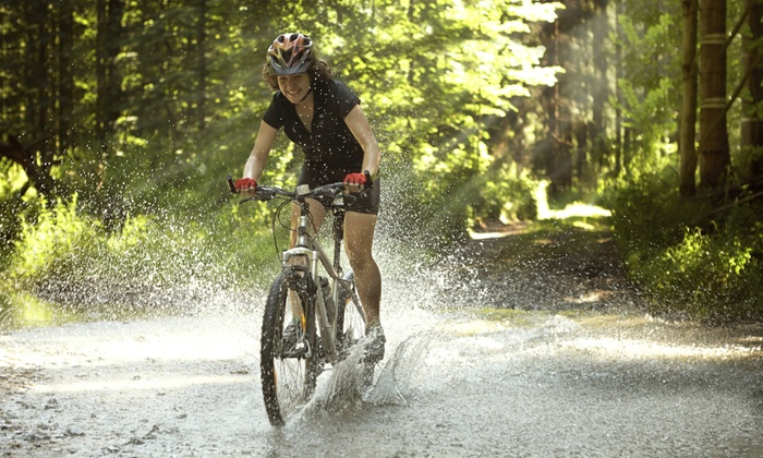Go Play Ann Arbor - Multiple Locations: Girls' Friday Fun Club Day for One or Mountain-Biking and Camping Trip for Two from Go Play Ann Arbor ( 50% Off)