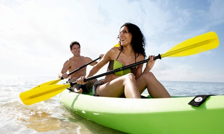 Two-Hour Single- or Double-Kayak Rental from Live Adventure (Up to 53% Off)