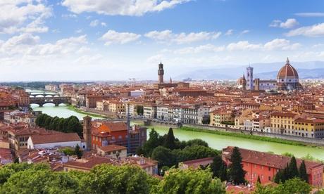✈ Florencia y Venecia: 5 noches en habitación doble para 1 con desayuno, vuelo de I/V y billetes de tren o autobús