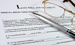 Burt Law Firm: $29 for Will Preparation at Burt Law Firm ($499 Value)