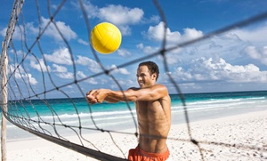 Cities and Sports: Coed Beach Volleyball League Registration at Cities and Sports (Up to 52% Off). Nine Options Available.