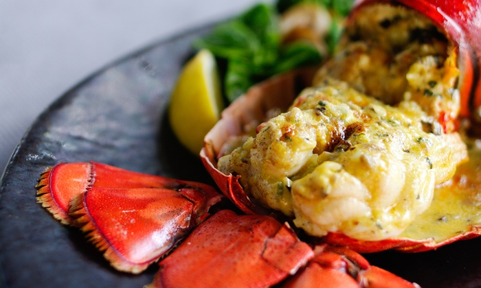 Bistro 1902 - Downtown Hollywood: All-You-Can-Eat Lobster Dinner with Sides for Two or Four at Bistro 1902 (44% Off)