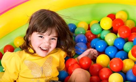 1 entrée illimitée pour enfant de moins ou plus de 3 ans dès 4,90 € au Play Park