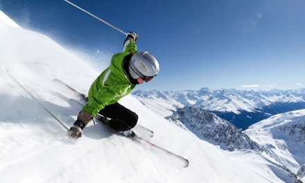 Ski or Snowboard Lesson for 1 or 2 or Three-Lesson Package at Alpine West Ski & Snowboard School (Up to 44% Off)
