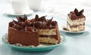 Aline Carvalho Bolos: Aline Carvalho Bolos – Tabuleiro do Pinto: bolo de 2, 4 ou 6 kg com 20, 40 ou 60 cupcakes