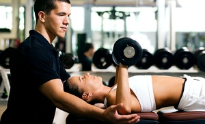 The Edge Fitness Clubs: 30-Day Fitness Plan for One or Two with Personal Training at The Edge Fitness Clubs (Up to 75% Off)