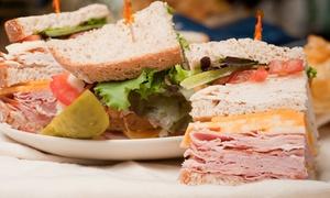 Manhattan Sandwich Company: $8 for $14 Worth of Sandwiches at Manhattan Sandwich Company