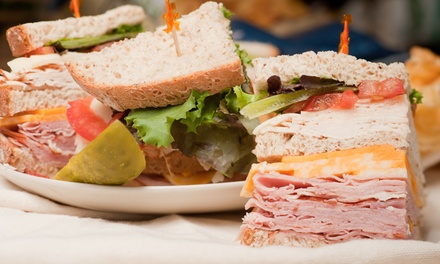 $8 for $14 Worth of Sandwiches at Manhattan Sandwich Company