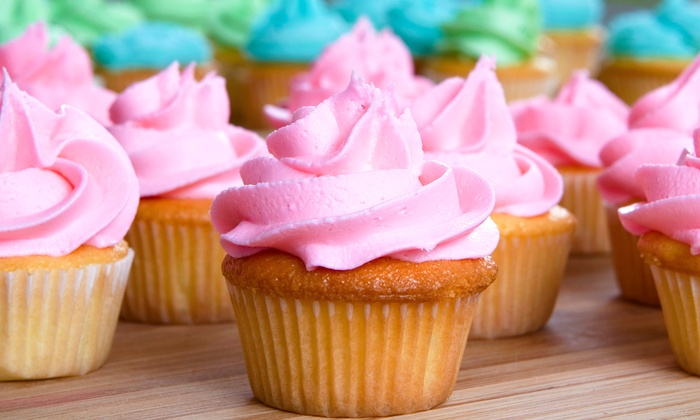 Meringue Bakery - Plano: Half-Dozen or a Dozen Cupcakes from Meringue Bakery (Up to 35% Off)