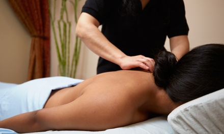 Back, Neck and Shoulder, or Full Body Massage, or Both at Butterfly Effect Holistic Centre (Up to 53% Off)