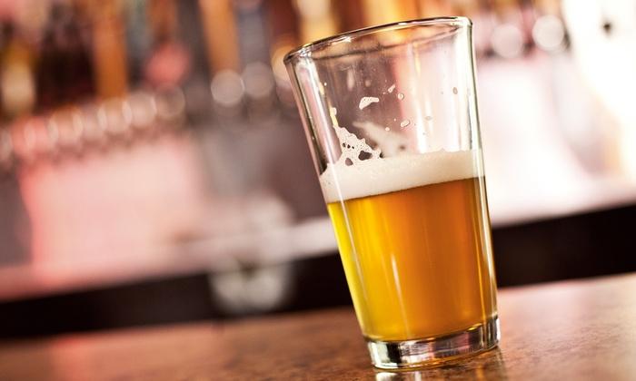 Pour Sports Pub - Park Stockdale: Pub Cuisine and Drinks at Pour Sports Pub (40% Off). Two Options Available.