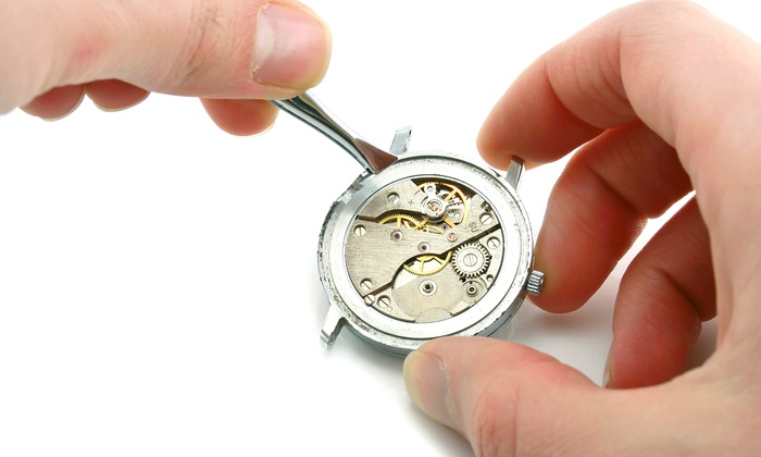 Crown Jewelers - New York: Watch-Battery Replacement with Installation from Crown Jewelers (55% Off)