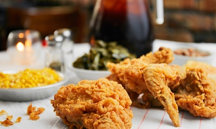 Soul Food or Party Platter at The Café (Up to 40% Off)