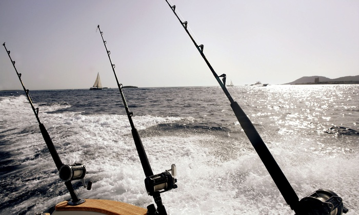 Four hour fishing charter daytona beach charters groupon for Deep sea fishing daytona