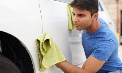 Scratch and Dent Removal Service on One, Two or Four Car Panels at DME Auto Center (Up to 72% Off)