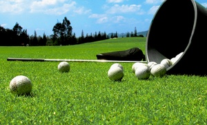 Papio Greens Golf Center: Two or Ten Large Buckets of Range Balls at Papio Greens Golf Center (Up to 51% Off)