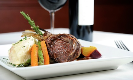 $25 for Fine American Food for Dinner for Two or More at Harry Browne's ($50 Value)